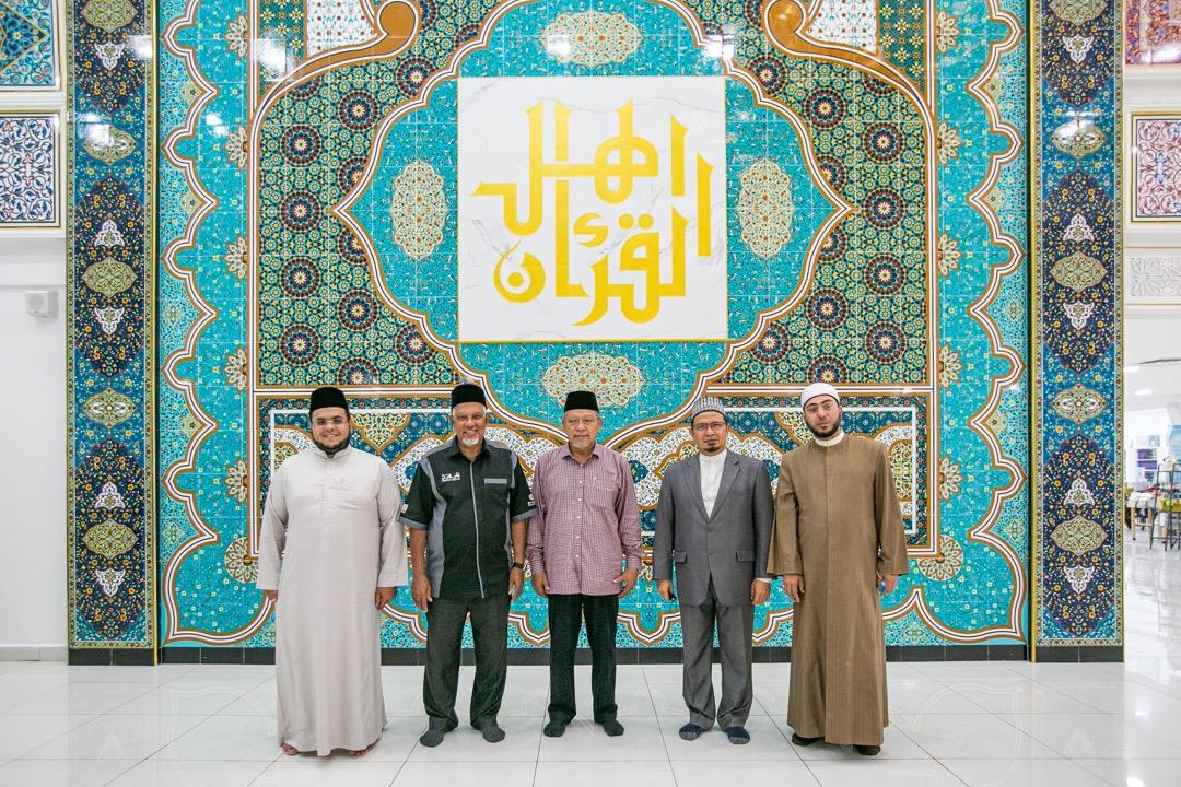 Lawatan Menteri Besar Kelantan ke Kompleks Nasyrul Quran pada Khamis, 24 September 2020.